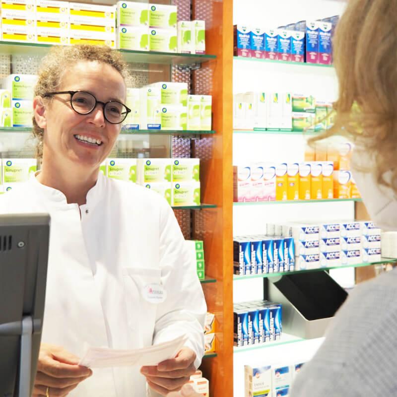 Pharmazeutische Beratung in der Löwen Apotheke Eltville